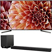 Sony Bravia XBR85X900F 85 4K HDR HLG Triluminos Android LCD TV with Google Assistant 3840x2160 & Sony HTST5000 7.1.2Ch 4K HDR Compatible 800W Dolby Atmos Soundbar