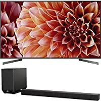 """Sony Bravia XBR85X900F 85"""" 4K HDR HLG Triluminos Android LCD TV with Google Assistant 3840x2160 & Sony HTST5000 7.1.2Ch 4K HDR Compatible 800W Dolby Atmos Soundbar"""