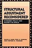 Structural Adjustment Reconsidered: Economic Policy and Poverty in Africa
