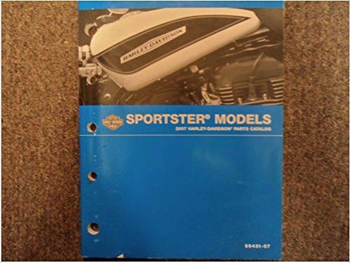 Harley Parts Catalog - 2007 Harley Davidson Sportster Models Parts Catalog Manual FACTORY OEM x NEW