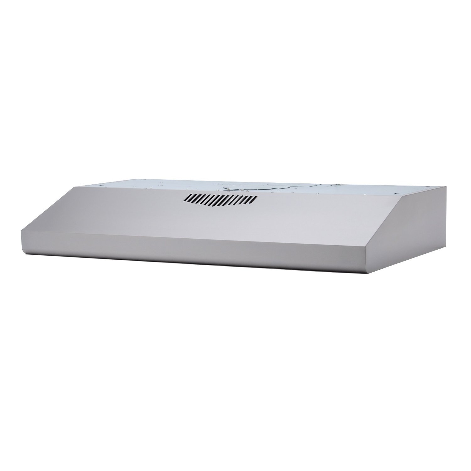 KOBE CHX3030PDS-GC Brillia 30-inch Under Cabinet Range Hood, 3-Speed, 290 CFM, Glass Panel
