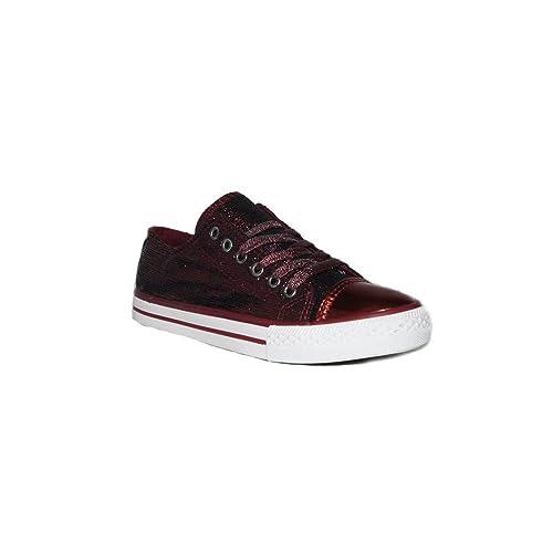 EMAS - EMAS Converse METALICO 107-27 Zapatillas Lona Mujer Casual Moda Verano 2018: Amazon.es: Zapatos y complementos