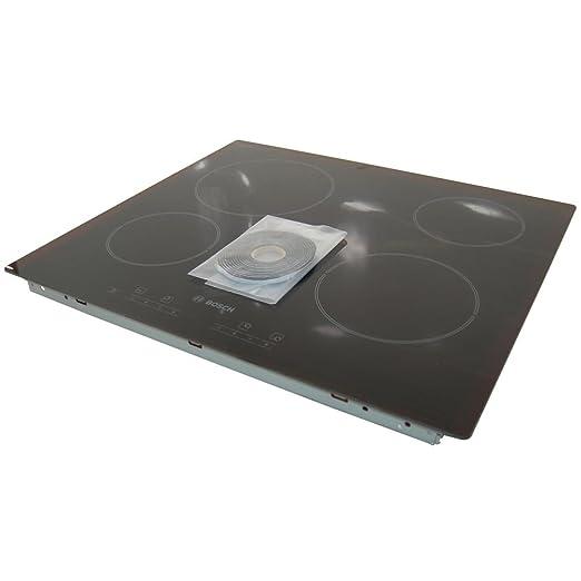 Amazon.com: Bosch Cocina vitrocerámica superior de vidrio ...