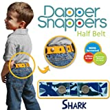 Dapper Snapper Made in USA Baby & Toddler Adjustable Belt-Shark Camo