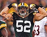 Clay Matthews Green Bay Packers Autographed Signed 8 x 10 Photo - COA - NM/MT - MT Condition!