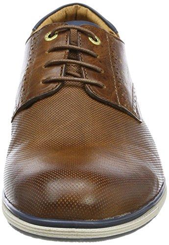 Pantofola d'Oro Sangro Low, Sneaker Uomo Marrone (Tortoise Shell)