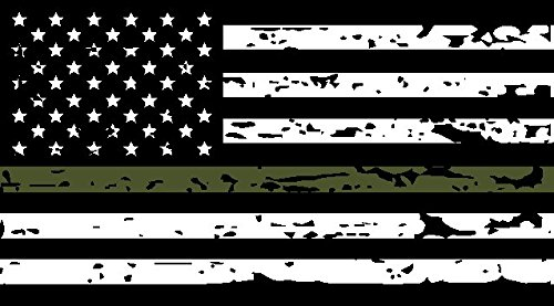 thin-green-line-tattered-us-flag-decal-3m-outdoor-series-highly-reflective-vinyl-black-white-od-gree
