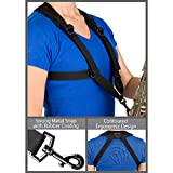 Pro Tec Protec Saxophone Harness with Deluxe Metal