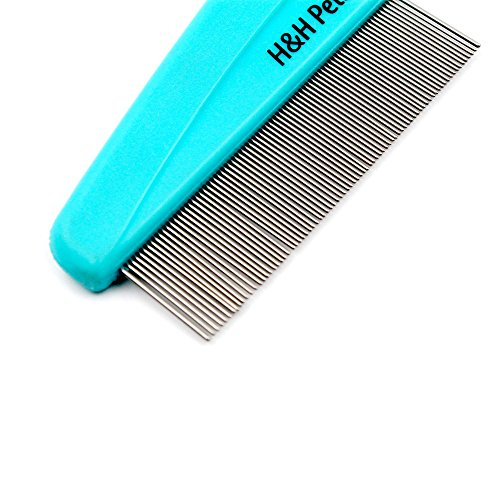 Flea-Comb-by-HH-Pets-Dog-Flea-Comb-Dog-Hair-Comb-Cat-Flee-Comb-Cat-Hair-Comb