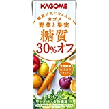 Kagome vegetables and fruit sugar quality 30% off 200mlX24 this