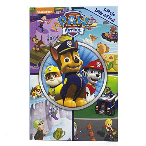 Nickelodeon - Paw Patrol - Little Look and Find Activity Book - PI Kids