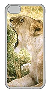 Personalized iPhone 5c Cases - Unique Cool Design The Roar Of The Tiger