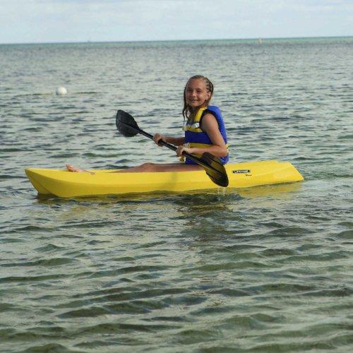 Lifetime wave youth kayak with paddle yellow 6 feet for Lifetime fishing kayak
