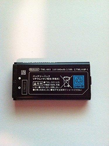 Battery Dsi (NEW OEM Nintendo TWL-003 TWL-001 DSi NDSi 840mah Standard Battery O4L)