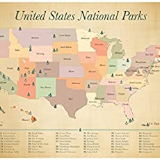 Amazoncom Cork Board Map Push Pin United States Map includes