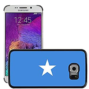 GoGoMobile Slim Protector Hard Shell Cover Case // V00001163 somalia National Country Flag // Samsung Galaxy S6 EDGE (Not Fits S6)