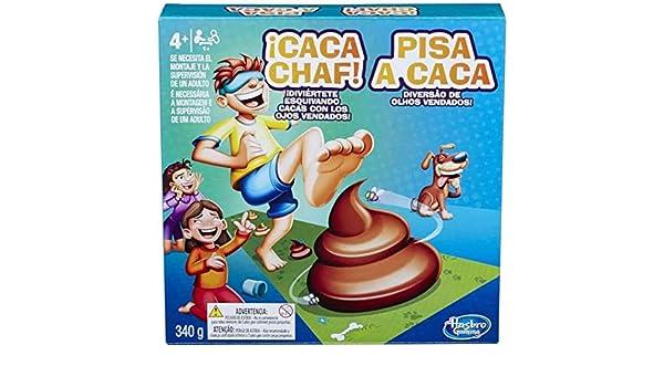 Hasbro European Trading,B.V. Juego ¡Caca Chaf!: Amazon.es: Juguetes y juegos