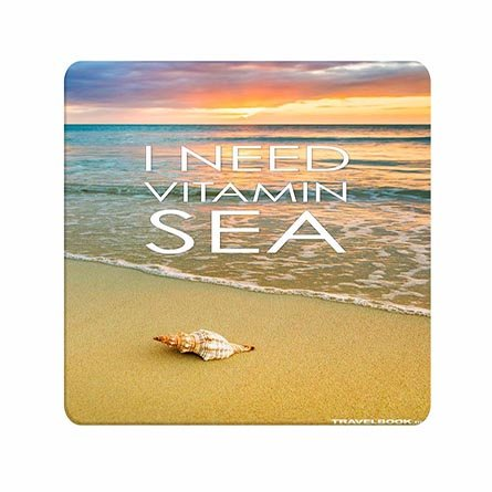Fashionable Design Treasure I Need Vitamin Sea Quote Durable Mouse Pads For Men