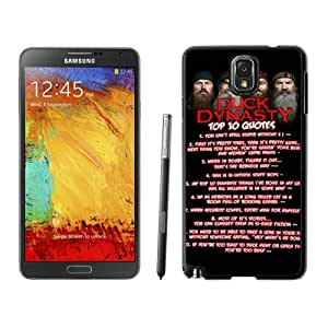 Beautiful And Unique Designed Case For Samsung Galaxy Note 3 N900A N900V N900P N900T With duck dynasty 5 Phone Case