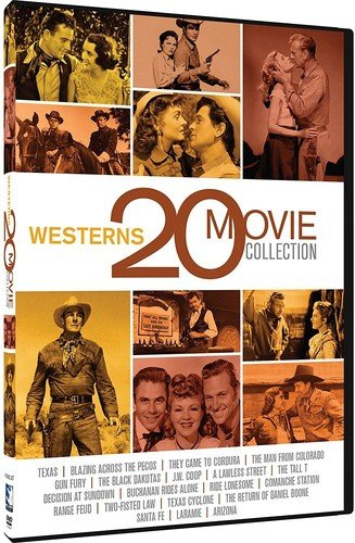 Western 20 Movie Collection by Mill Creek Entertainment