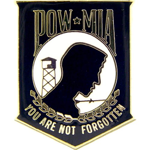POW MIA Military Medal Pin Military Commemorative Collectibles, Patriotic Gifts for Men, Women, Teens, Veterans Great Gift Idea for Wife, Husband, Relative, Boyfriend, Girlfriend, Grandparent, Fiance or Friend. Perfect Christmas Stocking Stuffer or Veterans Day Gift Idea. Design: For Women or Men!