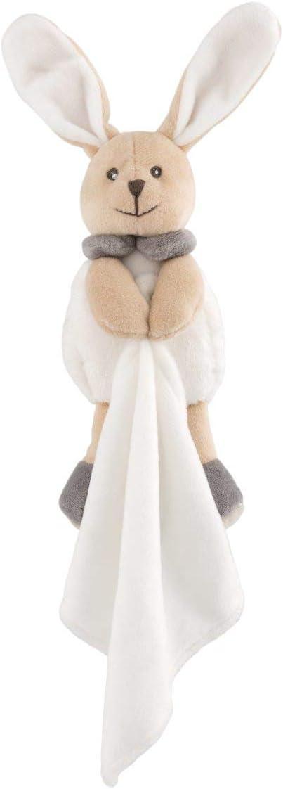 Chicco My Sweet Dou Dou Mantita Conejito - Manta para bebés de Tejido Suave y Divertido Peluche de Conejo