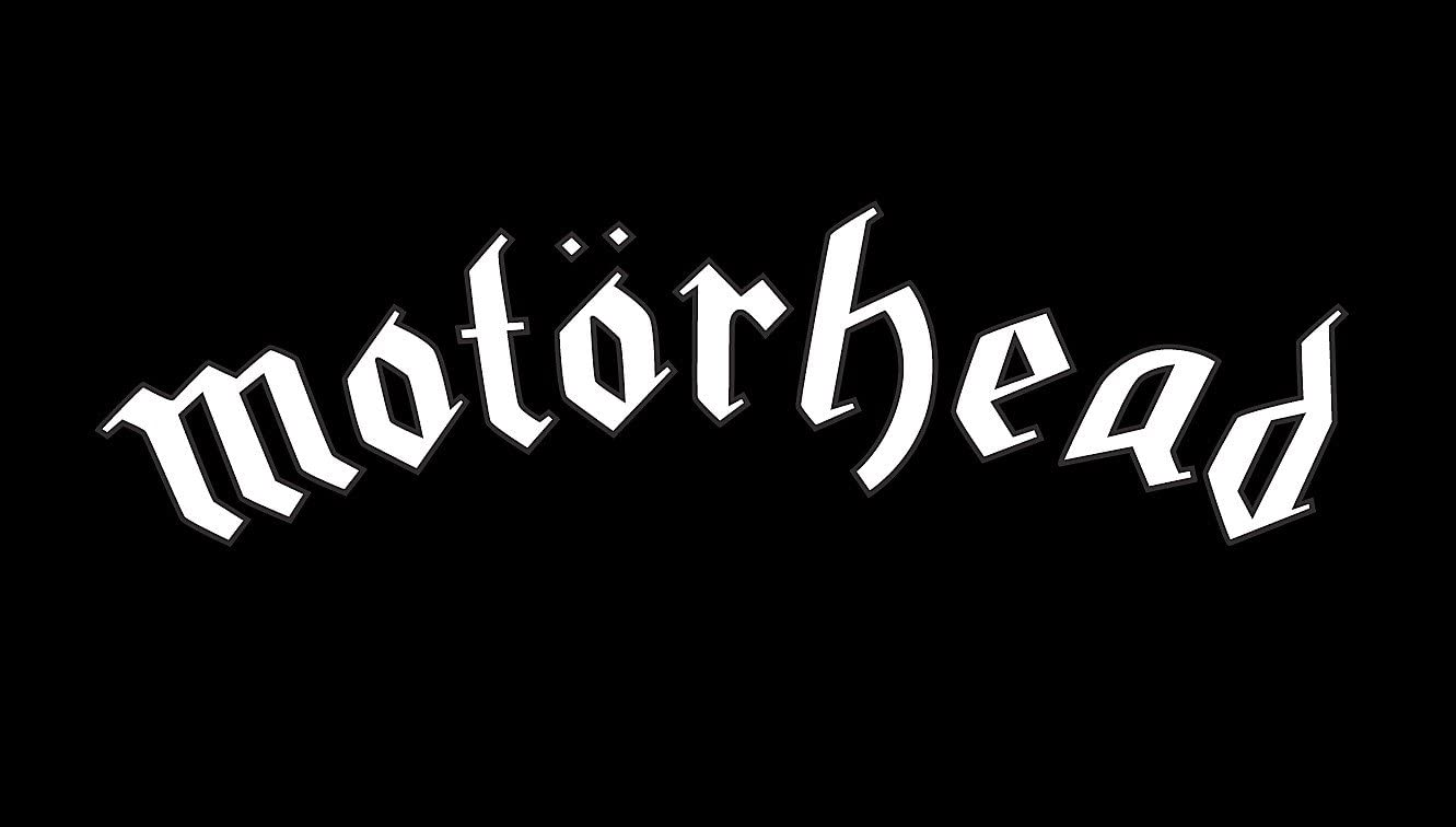 "Amazon.com: Motorhead 8"" Rock Band Logo Decal Sticker for Cars ..."