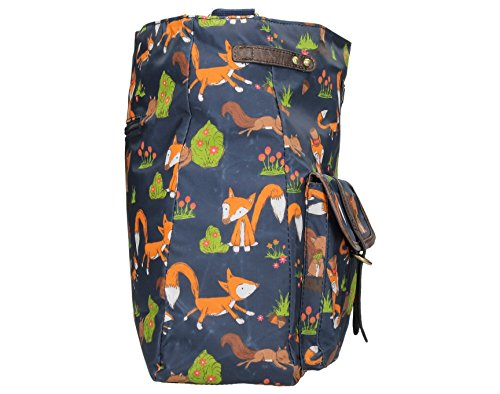 Freddie Bag amp; Zipper Saddle Print Style Fox Squirrel Navy Crossbody 44xrq1v