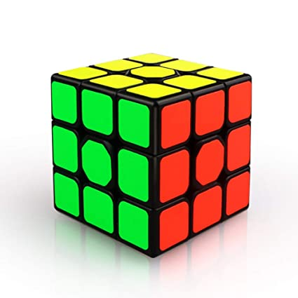 Alician 3X3X3 56mm Smooth Magic Cube Stress Reliever Toy