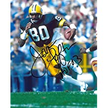 James Lofton, Green Bay Packers, Signed, Autographed, 8X10 Photo, a Coa with the Proof Photo of James Signing Will Be Included