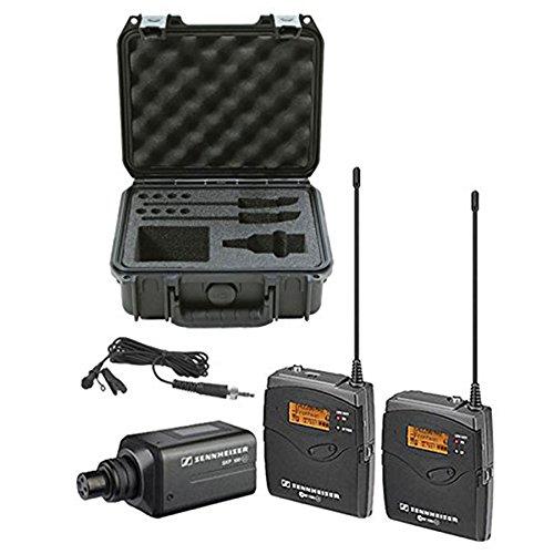 Sennheiser EW100ENG G3 Camera Wireless Mic Kit (A) w/ SKB Hard Case & Cable Ties (System Wireless G3 Bodypack)