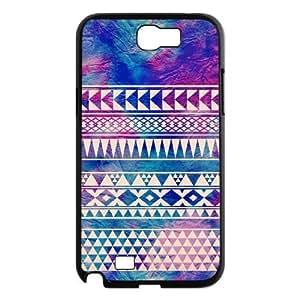 floral design Samsung Galaxy Note 2 Case Black Yearinspace918229