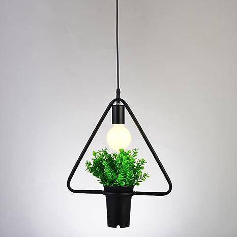 trioy Life - Lámpara de techo lámpara colgante E27 Lámpara ...