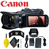 Canon Vixia HF G50 Ultra HD 4K Camcorder (Black) w/Memory Card Wallet - 5Pc Lens Cleaning Kit - Dust Blower & Fiber Cloth