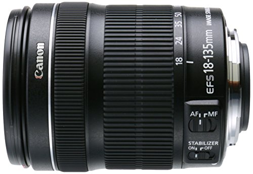 Canon EF-S 18-135mm f/3.5-5.6 IS STM Lens(White box, New) (Best All Purpose Canon Lens)