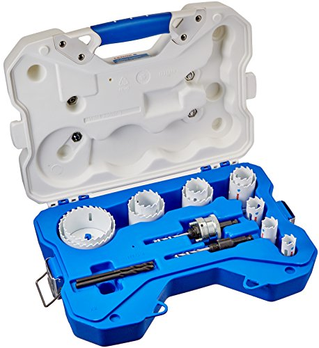 LENOX Contractor's Carbide Tipped Hole Saw Kit, 15 Piece by Lenox