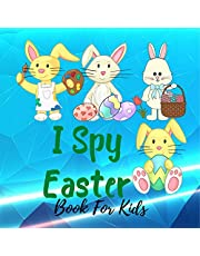 I Spy Easter Book for Kids: Fun & Interactive Picture Book for Preschoolers & Toddlers Fun Activity Happy Easter Things and Other Cute Stuff