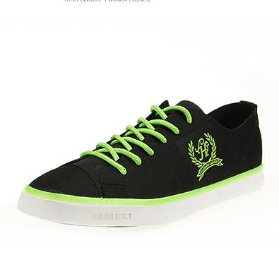 5c6f807151c Amurleopard chaussure bateau homme Skateboard Mocassins noir-fluo 39 ...