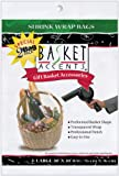 Arts & Crafts : Photo Frog Basket Accents 30 by 30-Inch Shrink Wrap Bags, Large, Clear, 2-Pack