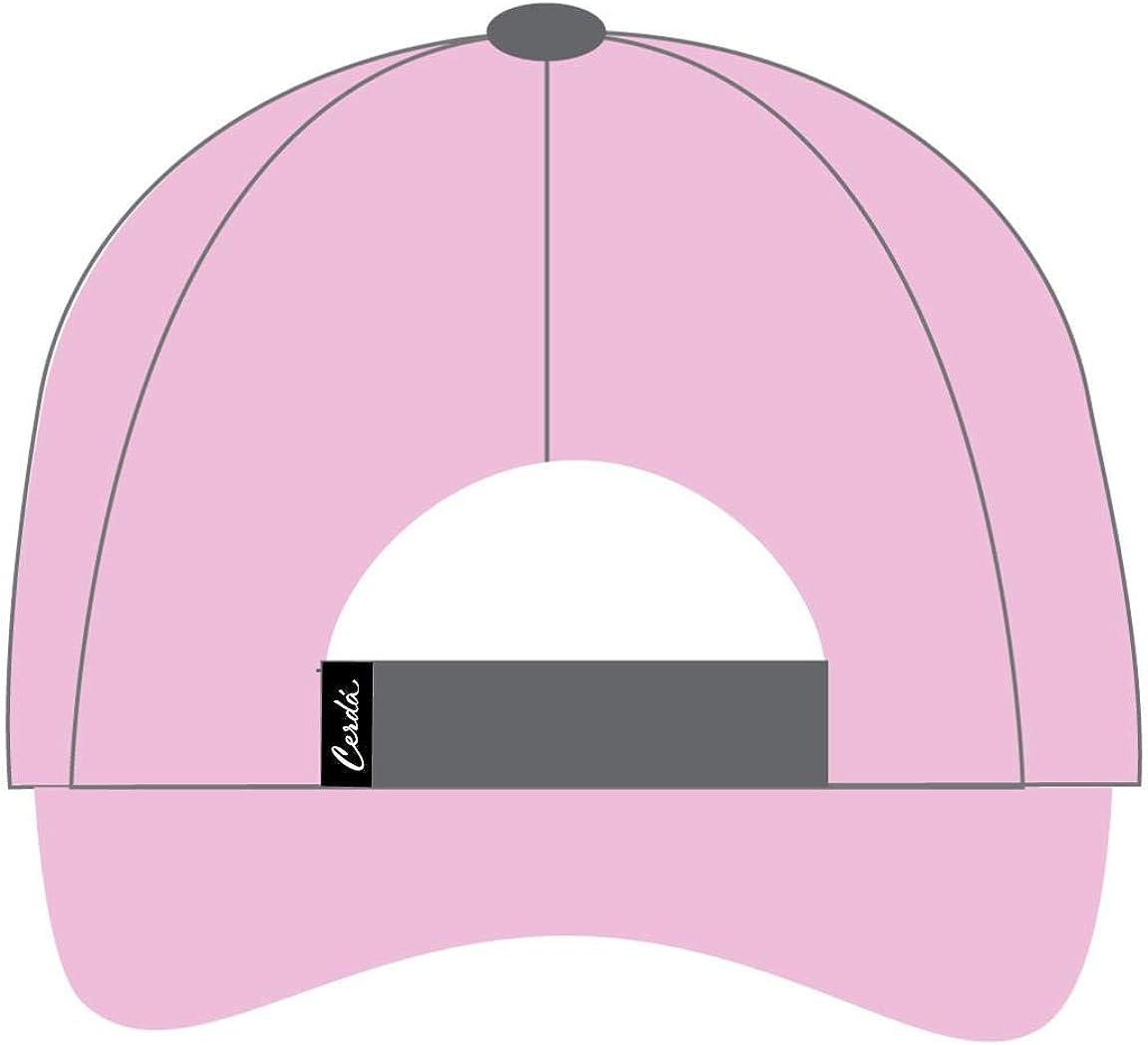Pink C07 Cerd/á Girls Gorra Innovaci/ón LOL Cap 54 UK