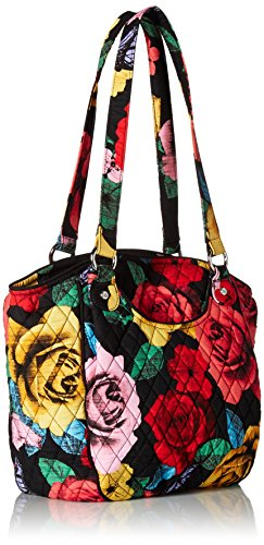 Havana Cotton Vera Signature Shoulder Rose Glenna Bag Bradley UqSY7w6
