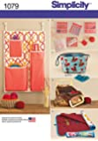 Simplicity Crafts Sewing Pattern 1079 Bags & Organisers