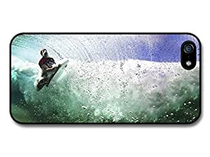 Cool Surfer Wave Boarding Colourful Trendy Style case for iPhone 5 5S