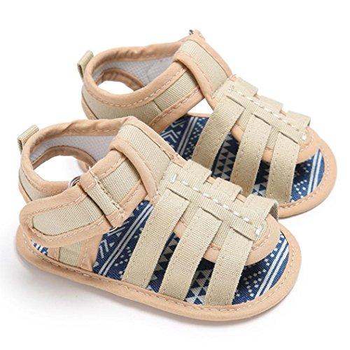 Igemy 1 Paar Baby Kleinkind Comfort Loafers Soft Schuhe Khaki