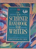 The Scribner Handbook for Writers, DiYanni, Robert and Hoy, Patrick C., 020527496X