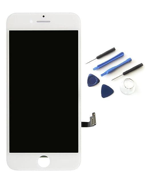 143 opinioni per DISPLAY BIANCO PER APPLE IPHONE 7 TOUCH SCREEN + SCHERMO LCD RETINA + VETRO
