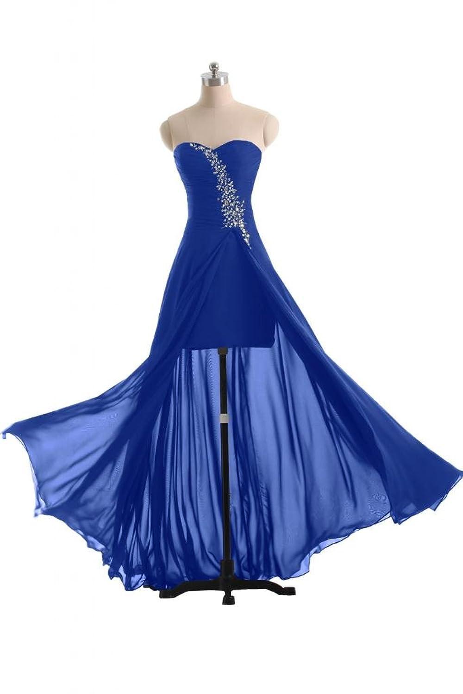 Sunvary 2014 New Chiffon Sweetheart Sheath Evening Party Dress Formal Pageant Dress