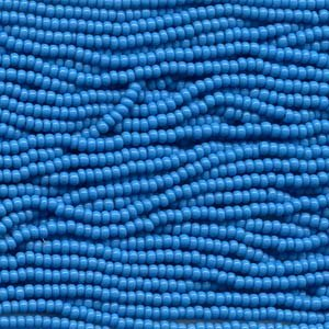 Dark Blue Czech Seed (Czech 11/0 Glass Seed Beads (4)(6 String Hanks) Which Is 24 18 Strands Preciosa Jablonex (Opaque Dark Turquoise Blue))