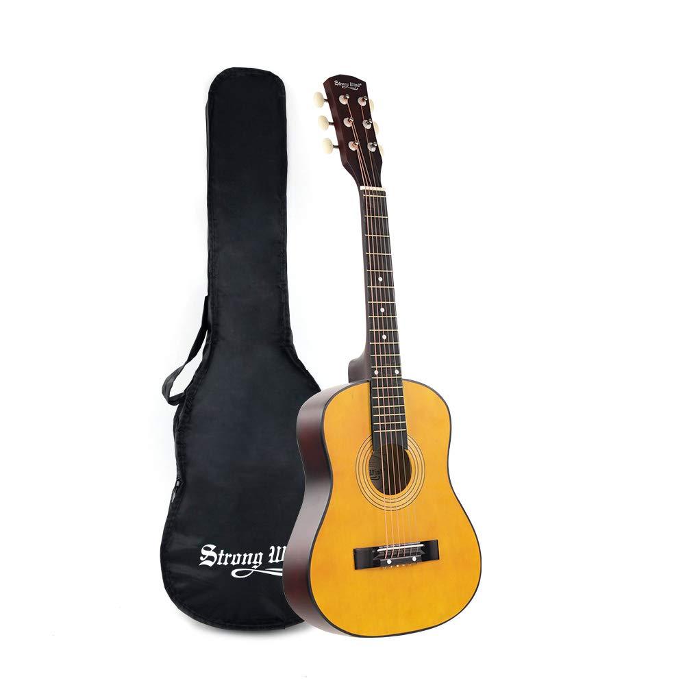 30 Inch Acoustic Guitar, Mini Guitars Instrument Beginner Kit