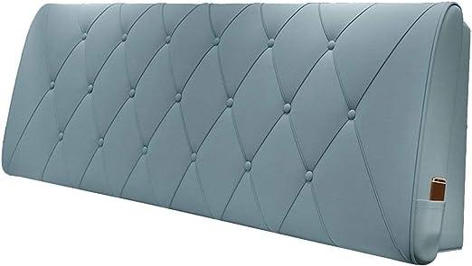 ANHPI-Cushion Cabeceros De Cama Cojines cabecera casero Respaldo de cuñas Almohadilla de la Cintura Almohada de la PU Estuche Blando de Esponja, 5 Colores Opcionales (Color : 3#, Size : 120 * 60cm): Amazon.es: Hogar